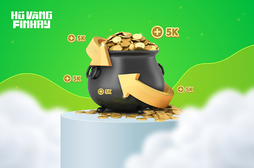 Hoàn tiền không giới hạn khi mua, bán vàng tại Finhay